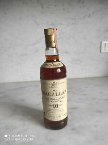 Macallan 10 Year Old Bottled 1980s-Giovinetti 75cl/40%