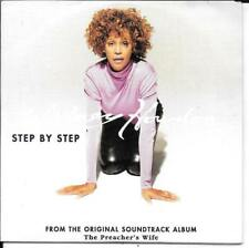 CD SINGLE 2 TITRES--WHITNEY HOUSTON--STEP BY STEP--1996