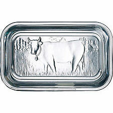 Luminarc Embossed Cow Butter Glass Dish A73115