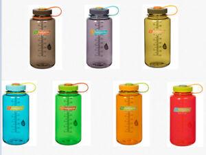 NALGENE-Everyday-1-L-Weithals-Trinkflasche-Wasserflasche-Neue Farben