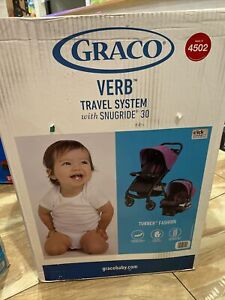 Graco Verb Travel System Includes Verb Stroller and SnugRide 30 Infant Car Seat