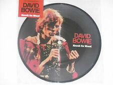 """DAVID BOWIE -Knock On Wood- 7"""" 45 Picture Disc  NEU"""