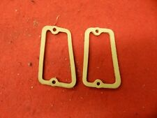 Pair of NOS 60 Ford Galaxie Fairlane Parking Lamp Lens Gaskets #C0AF-13211-A
