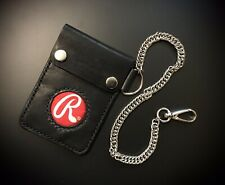 Rawlings Leather Baseball Glove Wallet W/chain