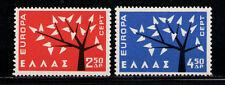 GRECIA/GREECE 1962 MNH SC.739/740 Europe,CEPT