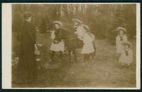 Royalty RUSSIA Czar Romanov Family original old 1920s Real photo postcard a47