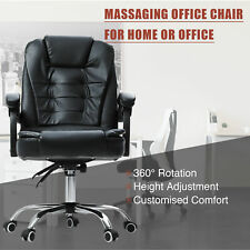 Ergonomic Reclining Massage Office Computer Chair Swivel Gaming Adjustable