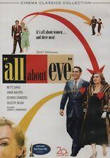Dvd Classic Movie / 1950 / All About Eve / Bette Davis / Anne Baxter / G.Sander