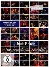 JACK BRUCE - ROCKPALAST: 50TH BIRTHDAY CONCERTS [VIDEO] NEW DVD