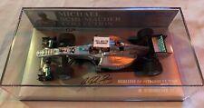 1:43 Minichamps Mercedes GP Petronas F1 Team MGP W02 Michael Schumacher 2011