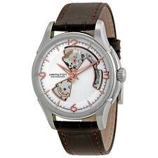 Hamilton Mens Jazzmaster Open Heart Watch H32565555