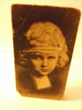 VINTAGE CANDY BOX WITH PICTURE OF A FLAPPER GIRL.
