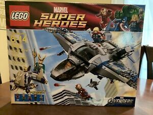 LEGO Super Heroes Quinjet Aerial Battle (6869) Factory Sealed