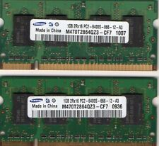 2GB 2x1GB Kit Sony Vaio PCG-3C2L PCG-3C3L PCG-3D3L PCG-3D4L PCG-3E2L RAM Memory