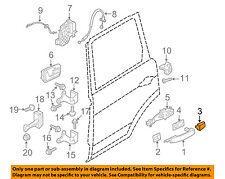 LAND ROVER OEM 10-16 LR4 Exterior Rear Door Lock-Cover Cap CXJ500060