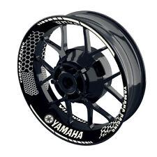 Felgenaufkleber Motorrad Felgenrandaufkleber Wheelsticker Yamaha Hexagon - S - W
