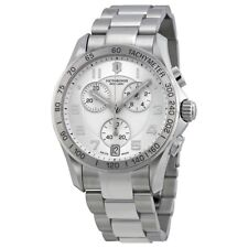 Brand New With Tags Victorinox Chrono Classic XLS Silver Dial Mens Watch
