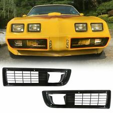 Lower Grille Screen Vent Set w/ fitting Kit For 1979-1981 Firebird and Trans Am
