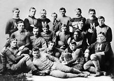 Photo.  1891 - 92.  University of Michigan Football Team