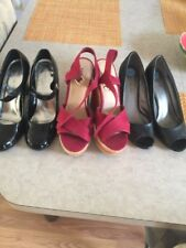 3 Pairs ~womens shoes size 7,5