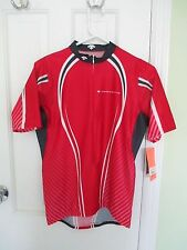 NEW NWT Descente Red Aero Slipstream Cycling Jersey Sz M