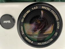 vivitar camera lens