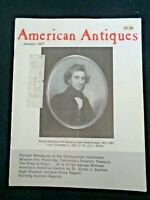 American Antiques 1977 Mission Inn Riverside CA Portrait Miniatures Faneuil Hall