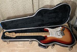 2002 Fender American Stratocaster HSS Sienna Sunburst Made In USA w/Case