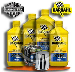 Tagliando Harley-Davidson Sportster-Softail KIT Bardahl XTM 20W50 filtro olio