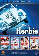 Disney Herbie: 4-Movie Collection (DVD, 2012, 4-Disc Set)