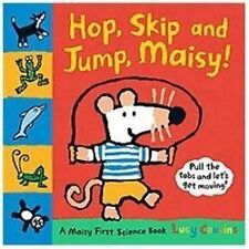 Hop, Skip, and Jump, Maisy!: A Maisy First Science Book, Lucy Cousins, Acceptabl