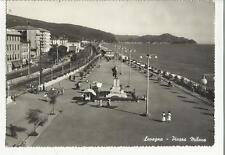 vecchia cartolina di lavagna piazza milano