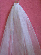 Hens Night  Bachelorette Party VEIL short and sassy White for the bride to be