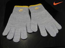 Nike Niños Boys And Girls guantes de punto gris 8-10 AÑOS