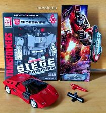 New listing Authentic Transformers Siege War For Cybertron Sideswipe Deluxe Wfc-S7 Hasbro