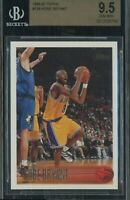 1996 Topps #138 Kobe Bryant RC Rookie HOF Lakers BGS 9.5 Gem 💎 Possible PSA 10
