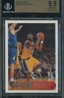 1996 Topps #138 Kobe Bryant RC Rookie HOF Lakers BGS 9.5 Gem 💎 Possible PSA 10