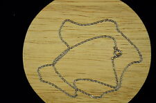 "SILVER PLATED 15.5"" STUNNING CABLE LINK CHAIN NECKLACE #X-10964"