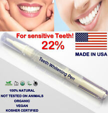 22% Teeth Whitening CLEAR TWIST PEN (2ml) -FOR SENSITIVE TEETH- *ON THE GO*