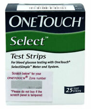 Johnson&Johnson One touch select test strips pack of 2*25 strips Long Expiry