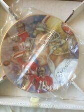 Joe Montana 8.5 Inch Gartllan Plate A State Of Excellence