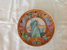 "Heinrich German made ""Liberty 1886-1986"" plate"