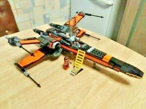 735 PCS StarWars Poe's X-wing Fighter Building Blocks Bricks Popular Educational