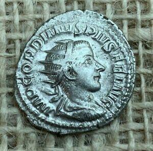 Gordian  111  AR Roman Atoninianus  AD 239 L3