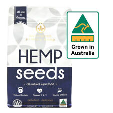 Hemp Seeds Australian Grown Protein With Omega 3 6   500g Vegan Super Food