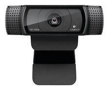 Logitech 960-001055 C920 15MP 1920 x 1080Pixeles USB 2.0 Negro cámara web