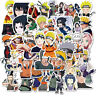 50Pcs Anime Naruto Stickers for Laptop Luggage Skateboard Graffiti Decals Pack