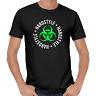 Hardstyle Biohazard Reaktor Toxic Club DJ Hard Trance Hardcore Techno T-Shirt