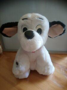 Peluche chien 101 dalmatiens 28 cm Walt Disney Mattel 1995 vintage