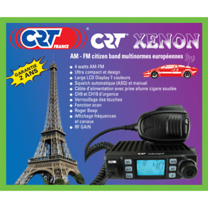 NEW CRT XENON Multi standard AM FM CB Radio + Cigarette Lighter Plug 27/81 MID